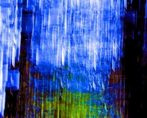 Blue Glass - 1