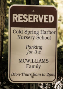 Nursery School Reserve Parking